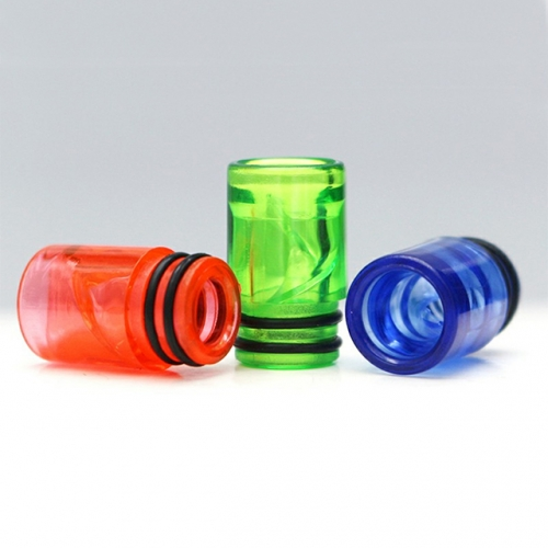 Colorful Spiral Drip Tip EGo AIO 510 Plastic Spiral Drip Tips E Cigarette Airflow Mouthpiece