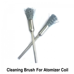 Stainless Steel Cleaning Brush / Heating Wire Cleaning Brush For E Cigarette Atomizer Coil Wire Clean Tool