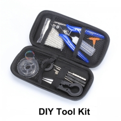 Vape DIY Tool Kit for RDA RTA Atomizer Rebuilding Coil Jig Bag Ceramic Tweezers Cutting Pliers Set E Cigarette Accessory Kits