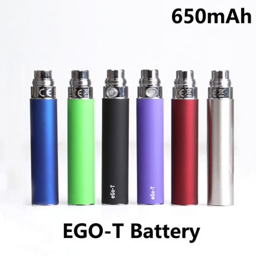 650mAh EGO-T Battery Pod For CE4 / CE5 / MT3 / T3 / H2 Atomizers