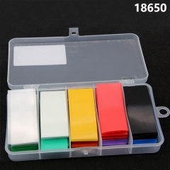 300pcs/pack Colorful PVC Heat Shrink Wrap Shrinkable Sleeve Films For 18650 Battery