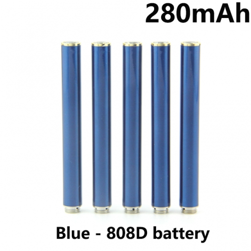 Blue Color 280mAh 808D Auto Battery With Bottom Diamond