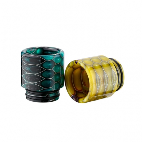 810 Snake Skin Resin Drip Tips Newest 810 Hive Mouthpieces