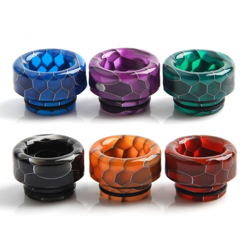 810 Snake Skin Resin Drip Tips Hive Dripper for 810 Tank Atomizers