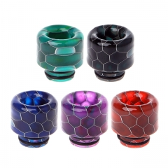 Round Mouth 510 Snake Skin Drip Tips 6 Colors Resin Mouthpieces