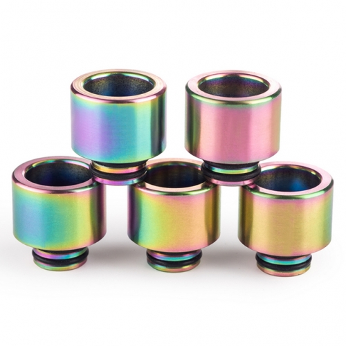 Rainbow Color Stainless Steel 510 Drip Tips Colorful 510 Mouthpieces