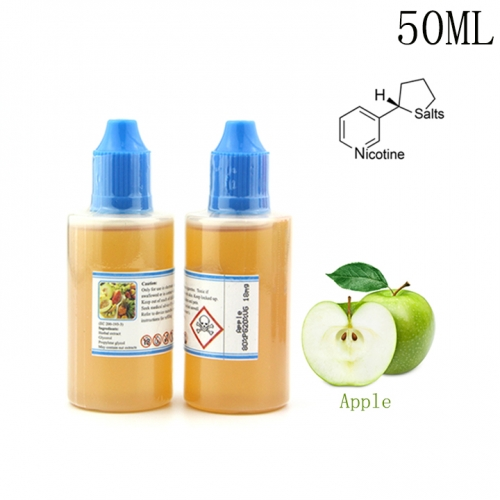 50ML Green Apple Flavor Dekang Nicotine Salt E-liquid