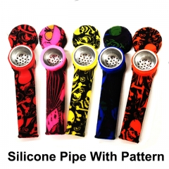 Colorful Silicone Pipe With Patterns