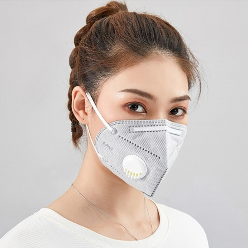 KN95 Mask 4 layers with Breathing valve one lot 40pcs DHL free shipping